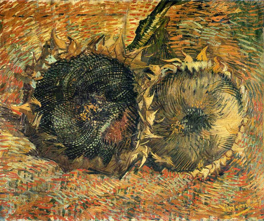 Vincent Van Gogh - Still Life With Two Sunflowers 1887